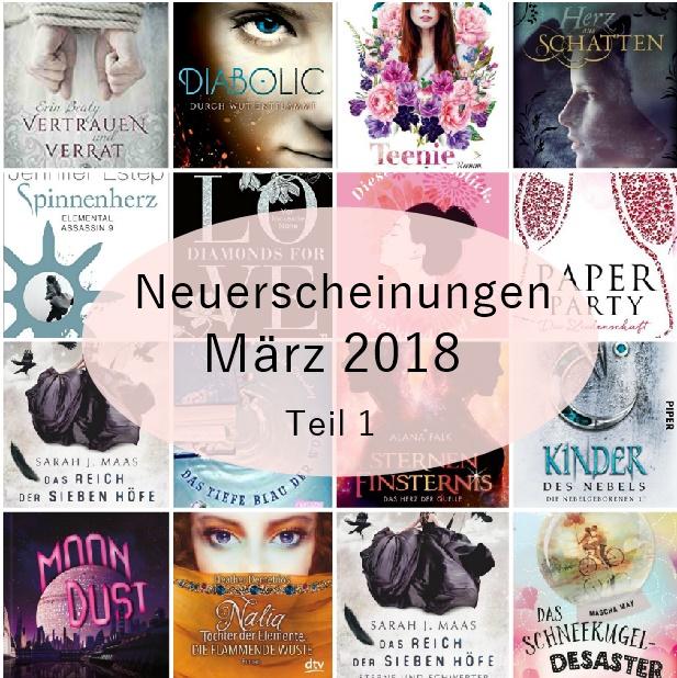 [Neuerscheinungen] März 2018 – Teil 1 von 3 – Carlsen-,Arena-, dtv-, und Piperverlag