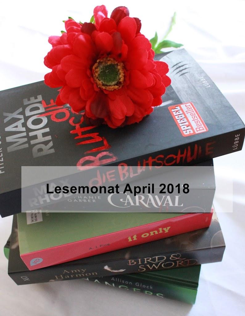 [Lesemonat] April 2018 – Ein Jahreshighlight habe ich gefunden.