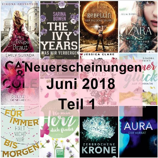 [Neuerscheinungen] Juni Teil 1 – LYX-, Bastei Lübbe-, cbt-, cbj & Thienemannverlag