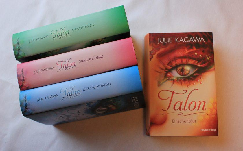 [Rezension] Talon Band 4 Drachenblut von Julie Kagawa