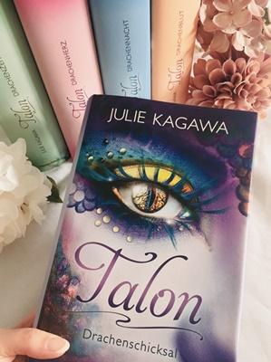 """Rezension – Talon 5 """"Drachenschicksal"""" von Julie Kagawa"""