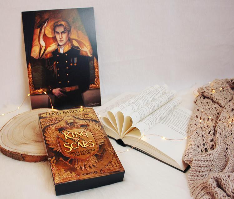 Rezension – King of Scars – Thron aus Gold & Asche von Leigh Bardugo